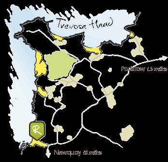porthcothan-bay map