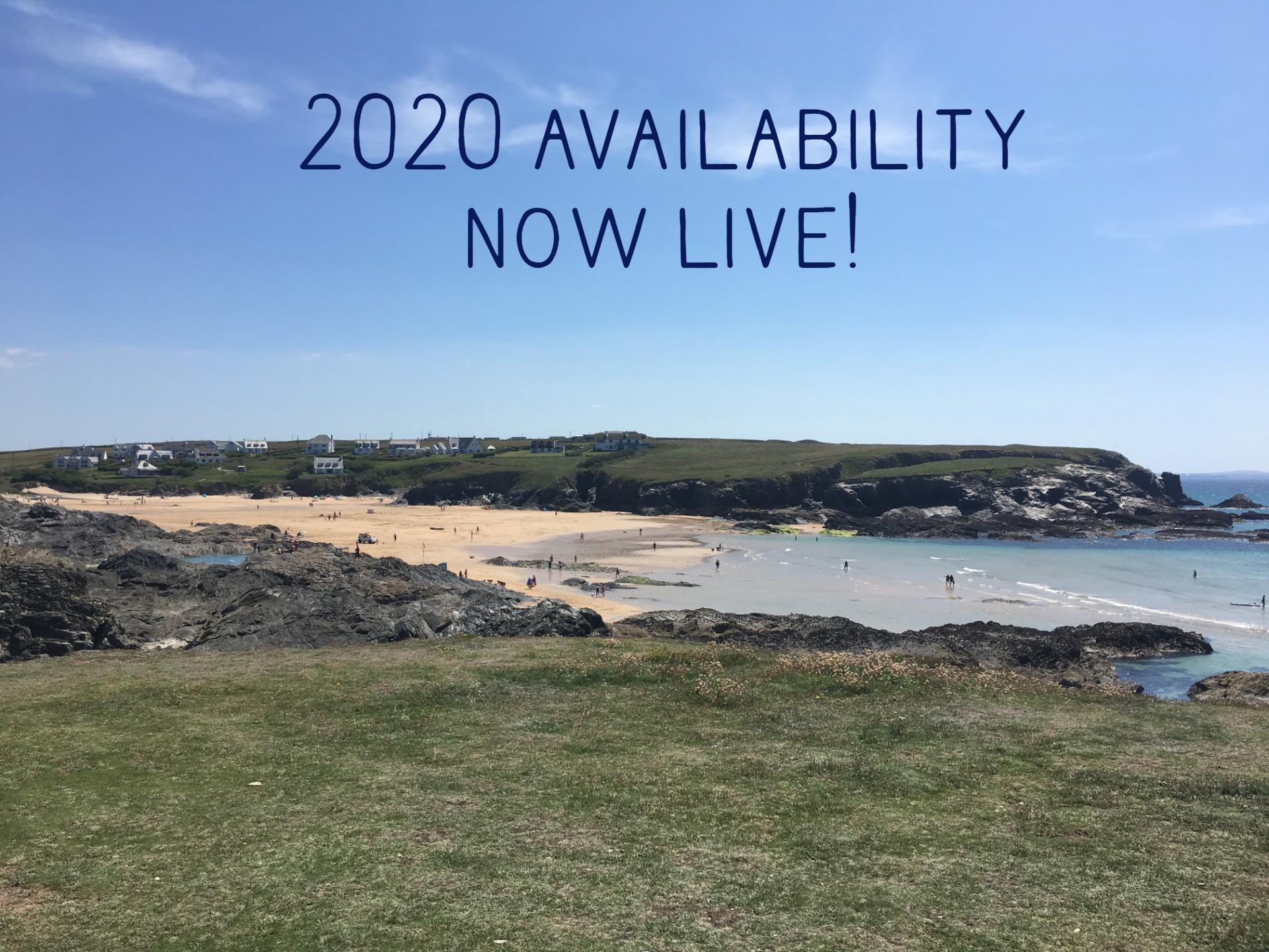 web 2020 availability