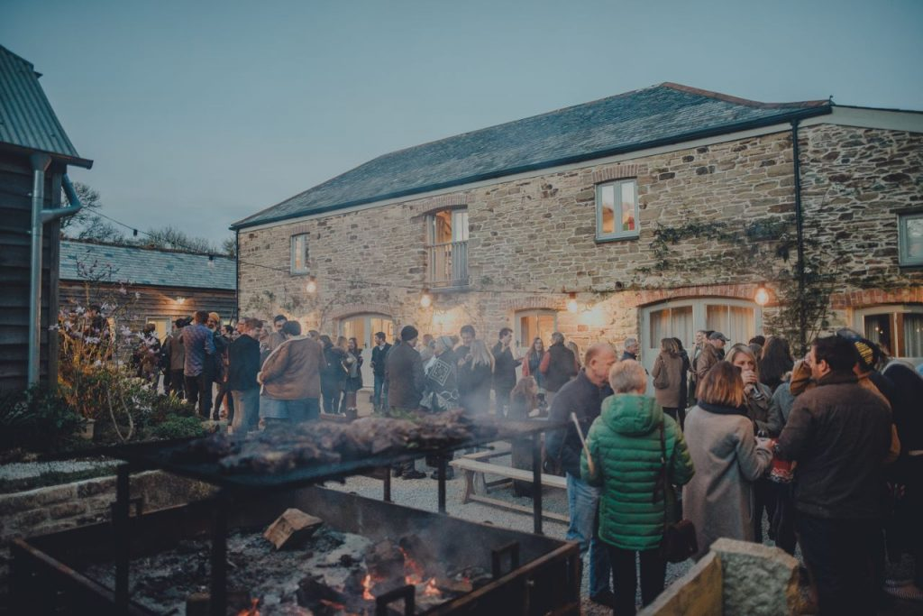 Nancarrow Farm - 1000 Mouths - A festival of feast nights
