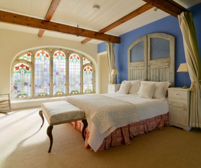 Master mezzanine bedroom at Church House