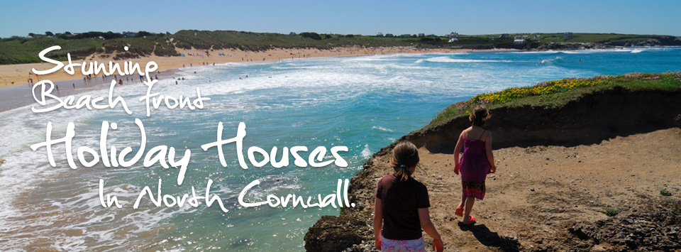 Stunning beach front holiday houses in Cornwall